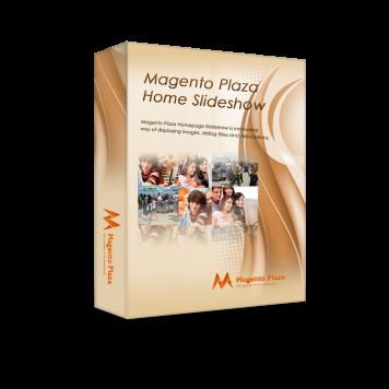 Magento Plaza Home Slideshow