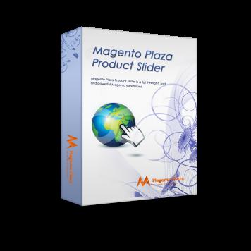 Magento Plaza Product Slider